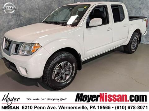 2017 Nissan Frontier for sale in Wernersville, PA