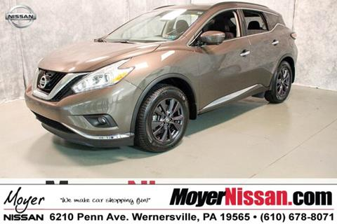 2017 Nissan Murano for sale in Wernersville, PA