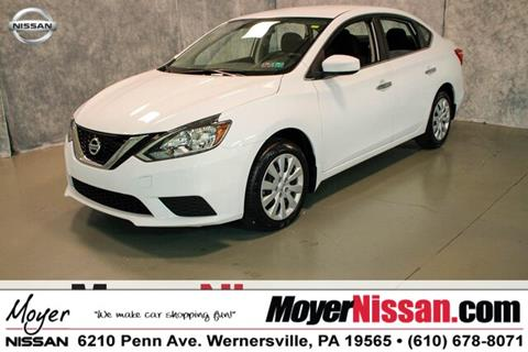 2017 Nissan Sentra for sale in Wernersville, PA