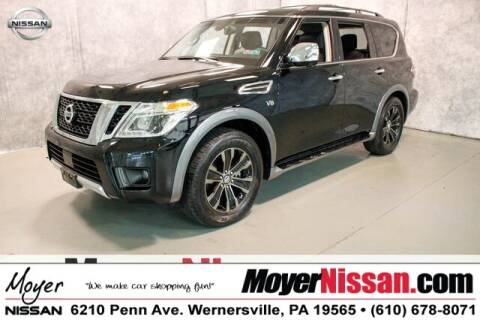 2017 Nissan Armada Platinum for sale at Moyer Nissan in Wernersville PA