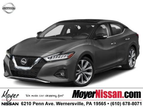 2020 Nissan Maxima Platinum for sale at Moyer Nissan in Wernersville PA