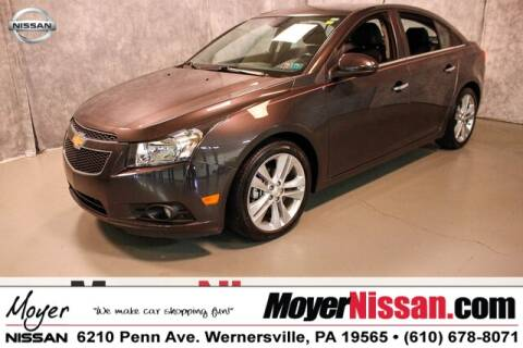 2014 Chevrolet Cruze LTZ Auto for sale at Moyer Nissan in Wernersville PA