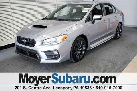 2018 Subaru WRX for sale in Leesport, PA