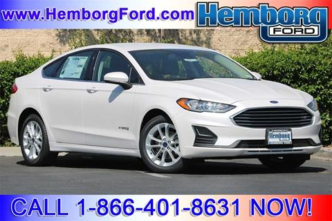 2019 Ford Fusion Hybrid for sale in Norco, CA
