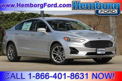 2019 Ford Fusion for sale in Norco, CA