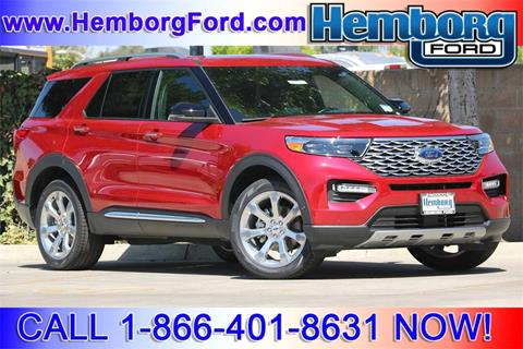 2020 Ford Explorer for sale in Norco, CA