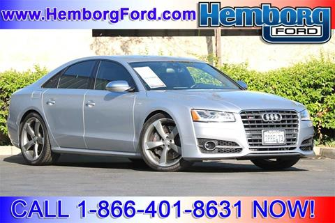2016 Audi S8 plus for sale in Norco, CA