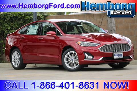 2019 Ford Fusion Energi for sale in Norco, CA