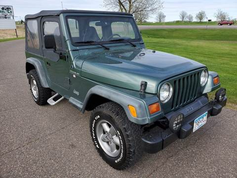 1999 Jeep Wrangler for sale in Milaca, MN