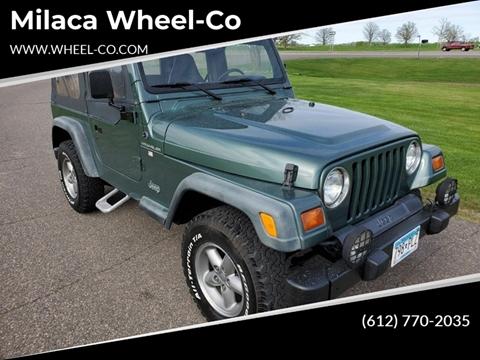 1999 Jeep Wrangler for sale in Milaca, MN