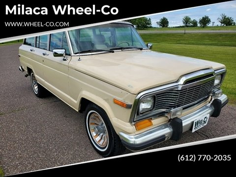 1985 Jeep Grand Wagoneer for sale in Milaca, MN