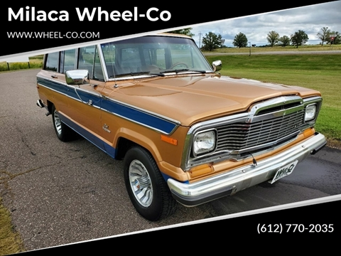 1984 Jeep Grand Wagoneer for sale in Milaca, MN