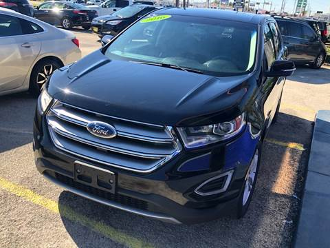 2016 Ford Edge for sale at Cow Boys Auto Sales LLC in Garland TX