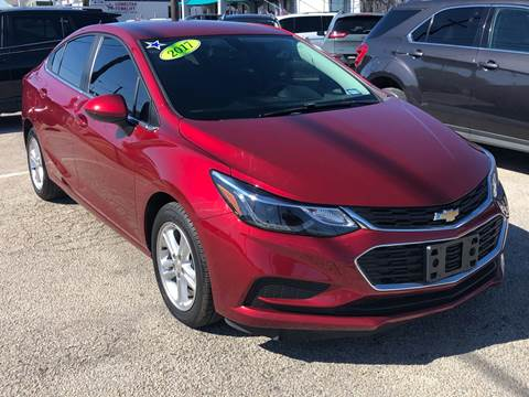 2017 Chevrolet Cruze for sale at Cow Boys Auto Sales LLC in Garland TX