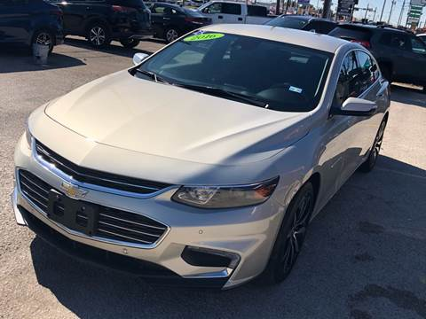 2016 Chevrolet Malibu for sale at Cow Boys Auto Sales LLC in Garland TX
