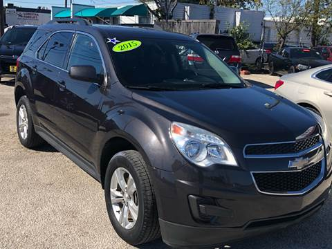 2015 Chevrolet Equinox for sale at Cow Boys Auto Sales LLC in Garland TX
