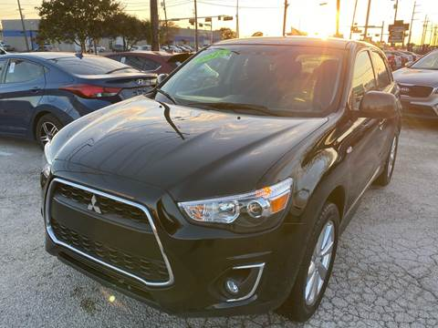 2015 Mitsubishi Outlander Sport for sale at Cow Boys Auto Sales LLC in Garland TX