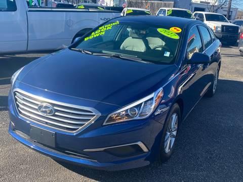 2017 Hyundai Sonata for sale at Cow Boys Auto Sales LLC in Garland TX