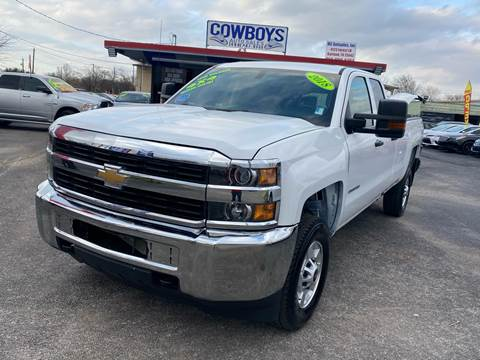 2018 Chevrolet Silverado 2500HD for sale at Cow Boys Auto Sales LLC in Garland TX