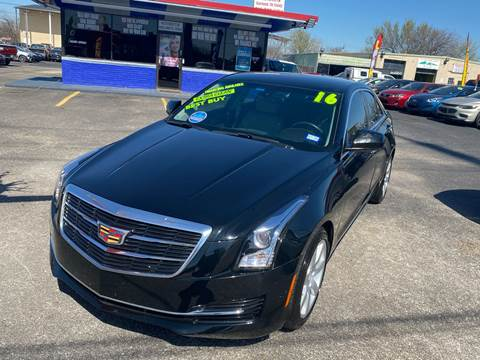 2016 Cadillac ATS for sale at Cow Boys Auto Sales LLC in Garland TX
