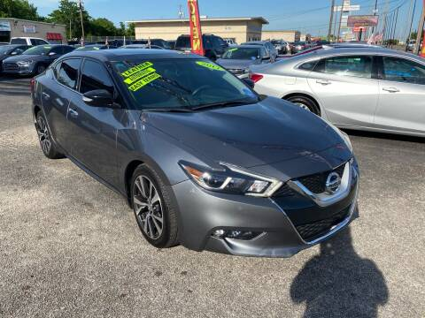 2017 Nissan Maxima for sale at Cow Boys Auto Sales LLC in Garland TX