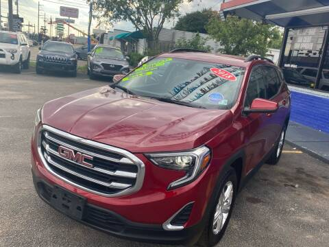 2018 GMC Terrain for sale at Cow Boys Auto Sales LLC in Garland TX