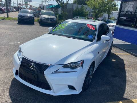 2016 Lexus IS 350 for sale at Cow Boys Auto Sales LLC in Garland TX