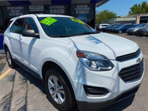 2017 Chevrolet Equinox for sale at Cow Boys Auto Sales LLC in Garland TX