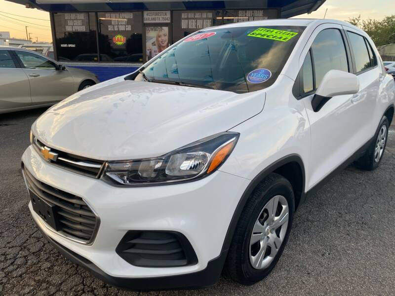 2017 Chevrolet Trax for sale at Cow Boys Auto Sales LLC in Garland TX