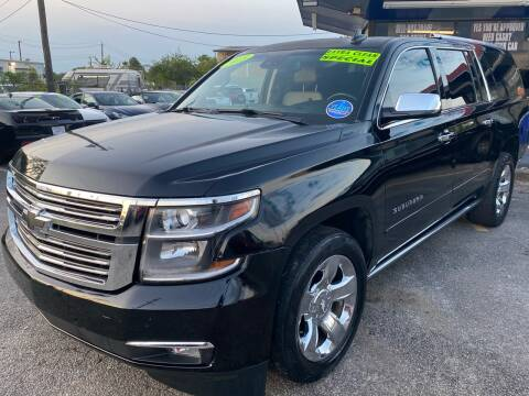 2015 Chevrolet Suburban for sale at Cow Boys Auto Sales LLC in Garland TX