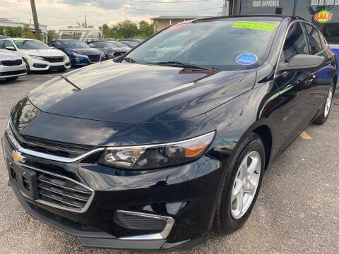2017 Chevrolet Malibu for sale at Cow Boys Auto Sales LLC in Garland TX
