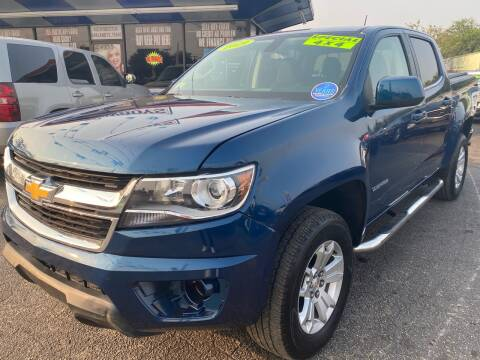 2019 Chevrolet Colorado for sale at Cow Boys Auto Sales LLC in Garland TX