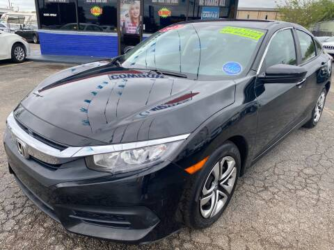 2017 Honda Civic for sale at Cow Boys Auto Sales LLC in Garland TX