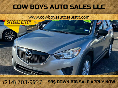 2015 Mazda CX-5 for sale at Cow Boys Auto Sales LLC in Garland TX