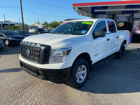 2017 Nissan Titan for sale at Cow Boys Auto Sales LLC in Garland TX