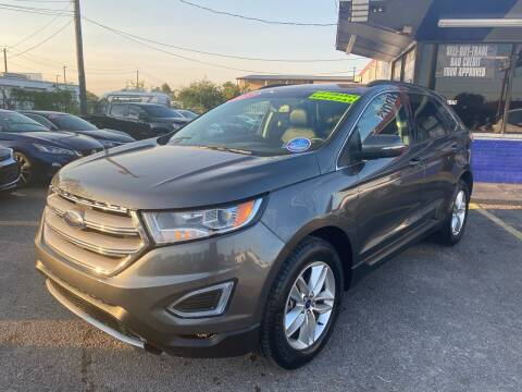 2017 Ford Edge for sale at Cow Boys Auto Sales LLC in Garland TX