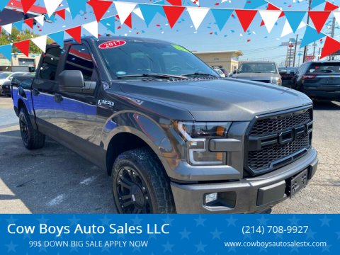 2017 Ford F-150 for sale at Cow Boys Auto Sales LLC in Garland TX