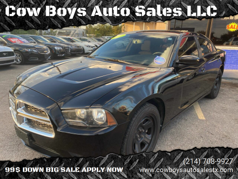 2012 Dodge Charger for sale at Cow Boys Auto Sales LLC in Garland TX
