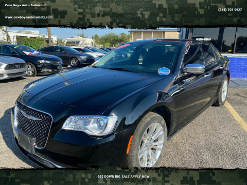 2016 Chrysler 300 for sale at Cow Boys Auto Sales LLC in Garland TX