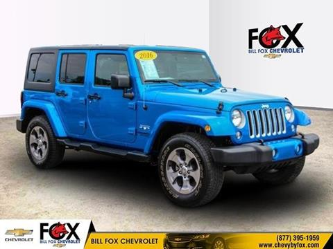 2016 Jeep Wrangler Unlimited for sale in Rochester Hills, MI