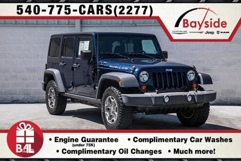 2013 Jeep Wrangler Unlimited for sale in King George, VA