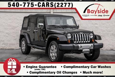 2011 Jeep Wrangler Unlimited for sale in King George, VA