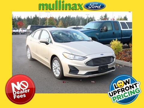 2019 Ford Fusion Hybrid for sale in Olympia, WA