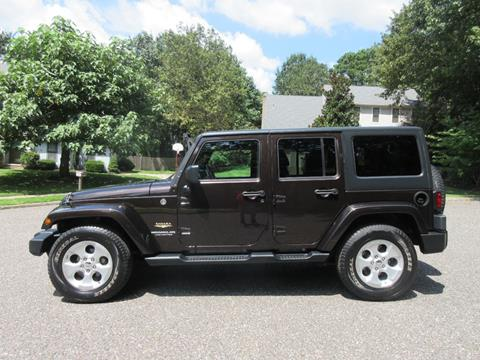 2013 Jeep Wrangler Unlimited for sale in Voorhees, NJ