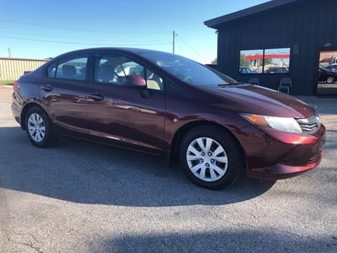 2012 Honda Civic for sale in Springdale, AR