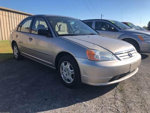 2001 Honda Civic for sale in Springdale, AR