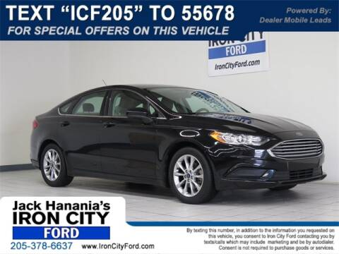 2017 Ford Fusion SE for sale at Iron City Ford in Birmingham AL