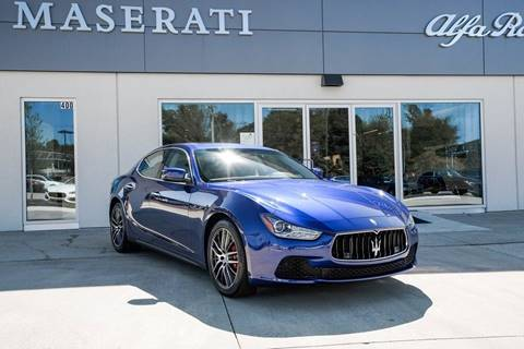 2016 Maserati Ghibli S Q4 for sale at Foreign Auto Brokers in Charlotte NC