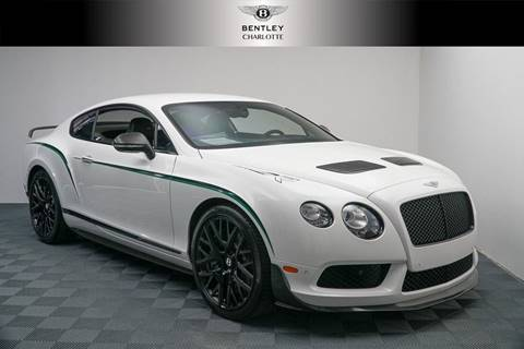 2015 Bentley Continental GT3-R for sale at Foreign Auto Brokers in Charlotte NC