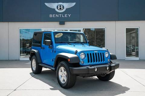 2015 Jeep Wrangler Freedom Edition for sale at Foreign Auto Brokers in Charlotte NC